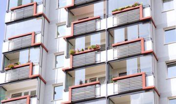 Modernes Wohngebäude in Deutschland